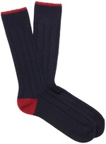 J.Mclaughlin Tipped Cashmere Socks