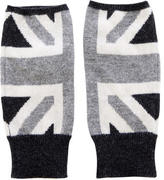 Autumn Cashmere Union Jack Fingerless Gloves w/ Tags