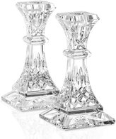 """Waterford Gifts, Lismore Candle Holders 6"""", Set of 2"""