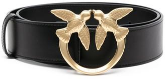 Pinko Love Berry leather belt