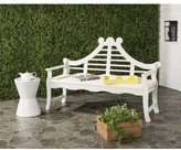 Safavieh Azusa Outdoor Antique/ White Bench