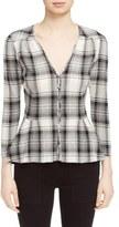 Veronica Beard Women's 'Pismo' Plaid Shirt