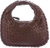 Bottega Veneta Mini Perforated Intrecciato Veneta Hobo
