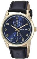 Geoffrey Beene Men's Quartz Metal and Polyurethane Dress Watch