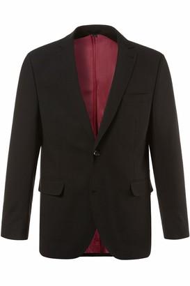 JP 1880 Men's Big & Tall Easy Care Stretch Suit Jacket Black 52 705512 10-52
