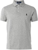 Polo Ralph Lauren embroidered logo polo shirt - men - Cotton/Spandex/Elastane - XL
