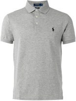 Polo Ralph Lauren embroidered logo polo shirt - men - Cotton/Spandex/Elastane - XXL