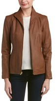 Cole Haan Leather Jacket.