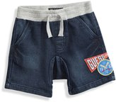 GUESS Comfort Denim Shorts in Dark Wash (12-24m)