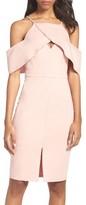 Adelyn Rae Women's Cold Shoulder Sheath Dress