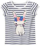 Gymboree Bunny Flower Tee