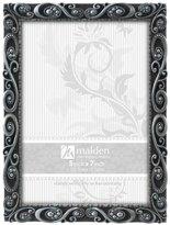 Malden International Designs Morgan Pewter Metal Picture Frame, 5x7, Silver