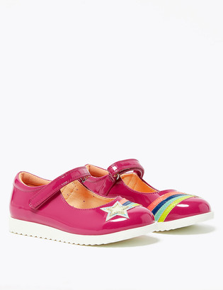 Marks and Spencer Kids Rainbow Mary Jane Shoes (5 Small - 12 Small)