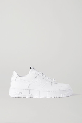 Nike Air Force 1 Pixel Leather Sneakers - White