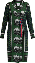 Stella Jean Graphic-print silk dress