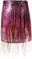 Amen embroidered mini skirt