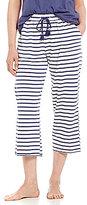 Karen Neuburger Striped Capri Sleep Pants