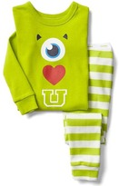 Gap babyGap | Disney Baby Mike Wazowski graphic sleep set