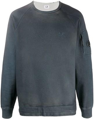 C.P. Company Goggle Patch Crewneck Sweatshirt