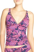 Tommy Bahama Women's 'Jacobean' Beaded Neck Tankini Top