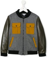 Little Marc Jacobs multi-pocket bomber jacket