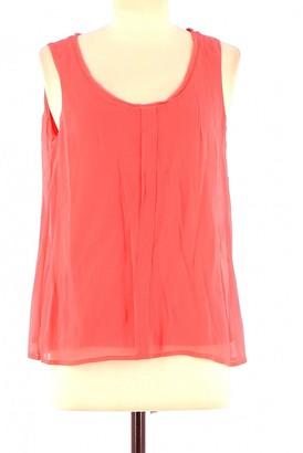 Comptoir des Cotonniers Red Cotton Top for Women