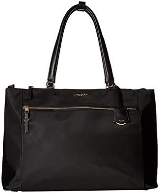 Tumi Voyageur Sheryl Business Tote (Black) Tote Handbags