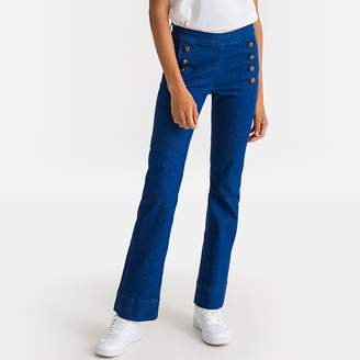 """La Redoute Collections High Waist Bootcut Jeans, Length 32"""""""