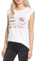 Pam & Gela Women's Frankie Embellished Muscle Tee