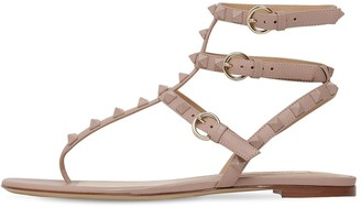 Valentino 10mm Rockstud Leather Sandals