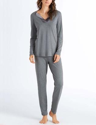 Hanro Women's Fenja Long Sleeve Pajama Set