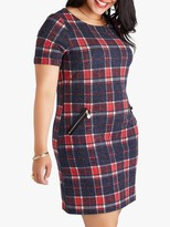 Yumi Curves Zip Check Tunic