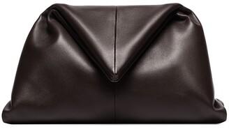 Bottega Veneta Ruched Envelope Clutch