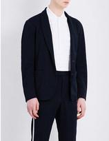 Camoshita Regular-fit piqué blazer