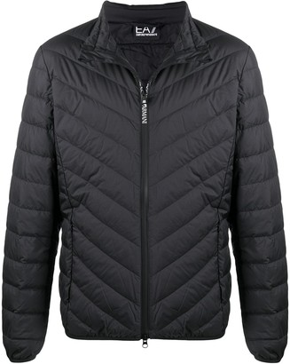 EA7 Emporio Armani Padded High Neck Jacket