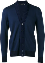 Alexander McQueen V-neck cardigan - men - Cotton/Wool - S