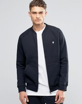 French Connection Zip Through Baseball Sweat