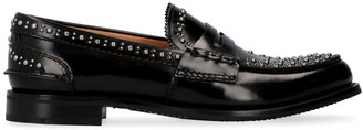 Church's Churchs Pembrey Studded Leather Loafers
