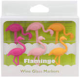 Final Touch Flamingo Wine Glass Markers, Pack of 6
