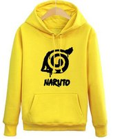 Splendid-Dream Unisex Anime Naruto Sasuke plus velvet sweater hoodie 1 (M, )