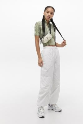 BDG Saturn Extreme White Cargo Trousers - White XS at Urban Outfitters
