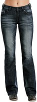 Rock & Roll Cowgirl Distressed Jeans - Mid Rise, Bootcut (For Women)