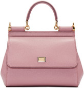 Dolce & Gabbana Pink Small Miss Sicily Bag