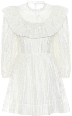 Ulla Johnson Whitely cotton and silk minidress