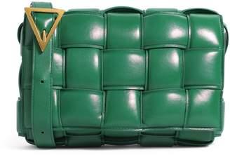 Bottega Veneta Leather Intrecciato Cross-Body Bag