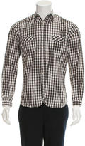 Paul Smith Long Sleeve Gingham Button-Up