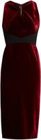 Roland Mouret Mennan velvet dress