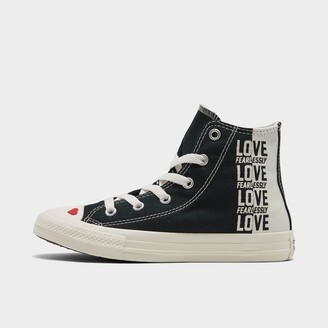 Converse Girls' Little Kids' Chuck Taylor All Star Love High Top Casual Shoes