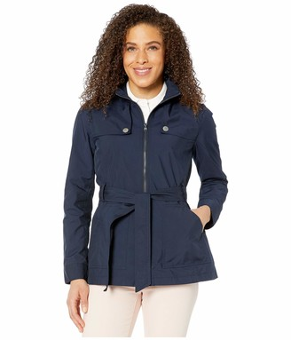 Tommy Hilfiger Women's Adaptive Belted Jacket with Magnetic Zipper