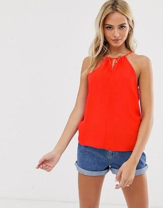 Pimkie halter blouse in red